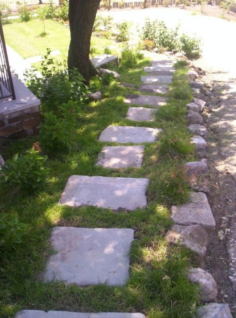Giardino per agriturismo a vetralla e green for Progettazione giardini roma