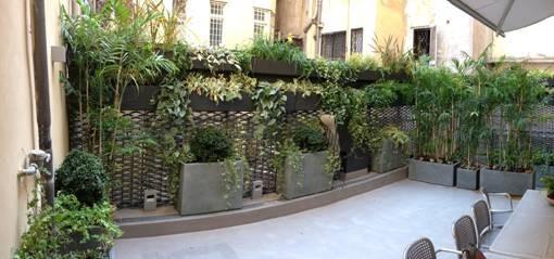 Realizzazione giardini verticali e green realizzazione e progettazione giardini roma - Giardini verticali interni ...